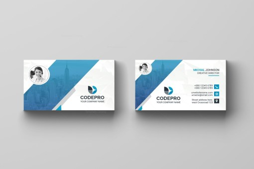 Classic PSD Business Card
