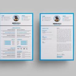 Minimalist Stylish CV Design