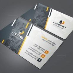 PSD Company Business Card