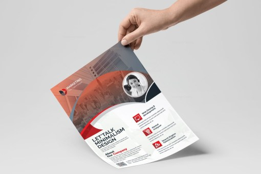 PSD Creative Flyer Templates