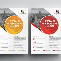 PSD Excellent Business Flyer Templates