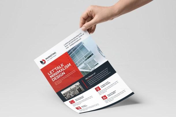 PSD Minimal Flyer Design Templates