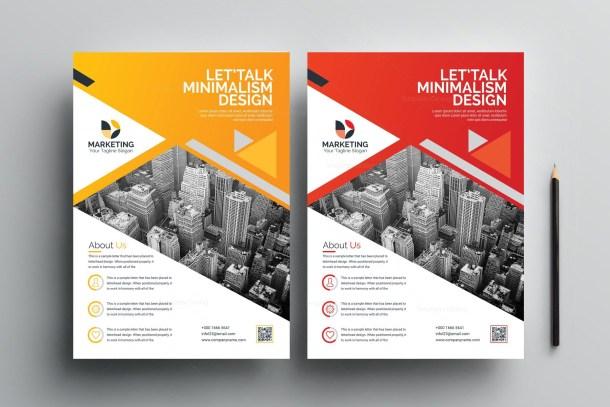 PSD Modern Flyer Design Templates