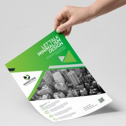 PSD Modern Flyer Design Templates