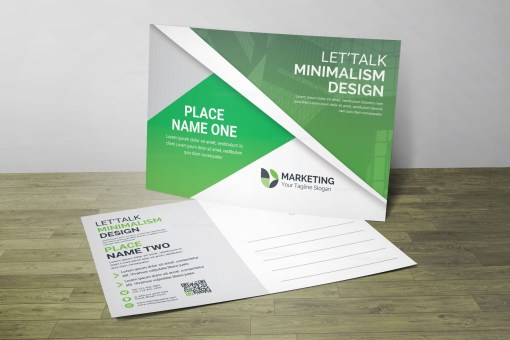 PSD Premium Postcard Design
