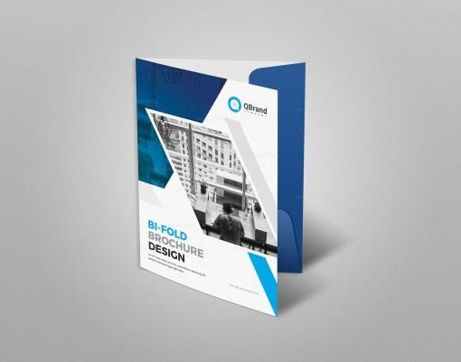Stylish Presentation Folder Template