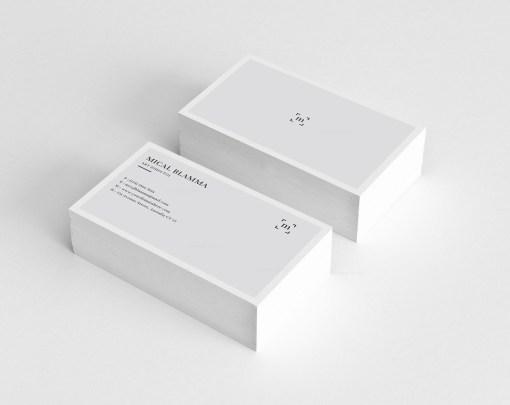 Basic Visit Card Template