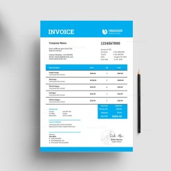 Creative Business Invoice Templates