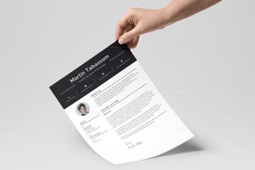 Impressive Resume Design Template