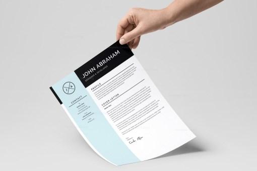 Sleek Resume Design Template