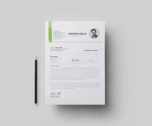 A4 Elegant Resume Template