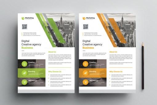 A4 PSD Flyer Design