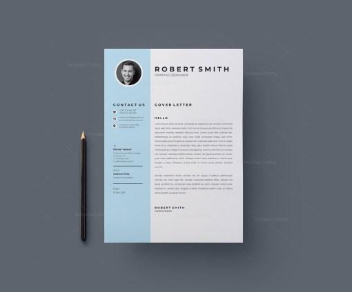 Creative Vector Resume Template