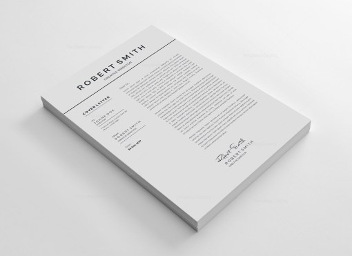 Standard Vector Resume Template