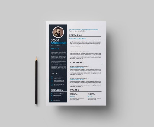 Resume and Cover Letter Template