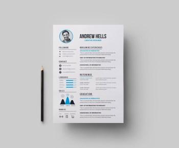 EPS Professional CV Template