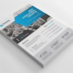 Elegant PSD Business Flyer Poster