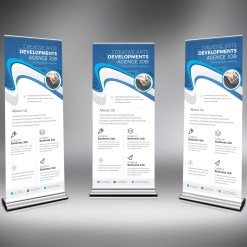 PSD Creative Roll Up Banner
