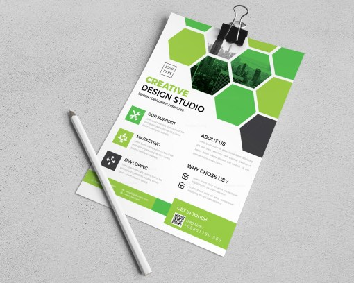 Manufacturing Flyer Templates