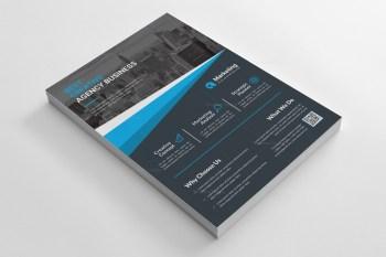 PSD Dark Business Flyer Templates