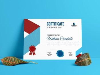 Printable Certificate Template