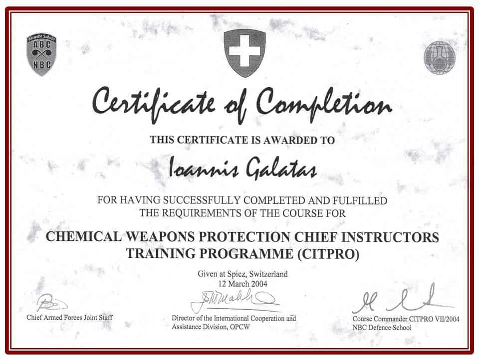 Certificate Of Completion Training  Certificate Of Completion Training