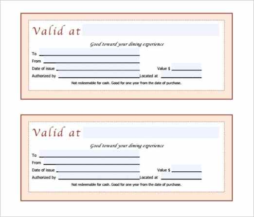 Free Gift Certificate sample 99741