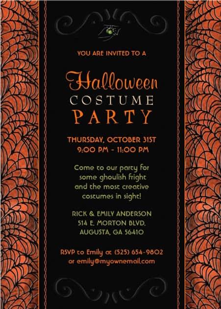 Free Party Invitation example 19641