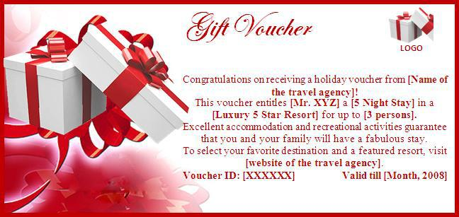 Gift Voucher Template 39461  Gift Vouchers Templates