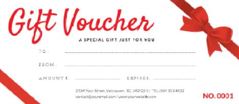 Gift Voucher sample 14.4