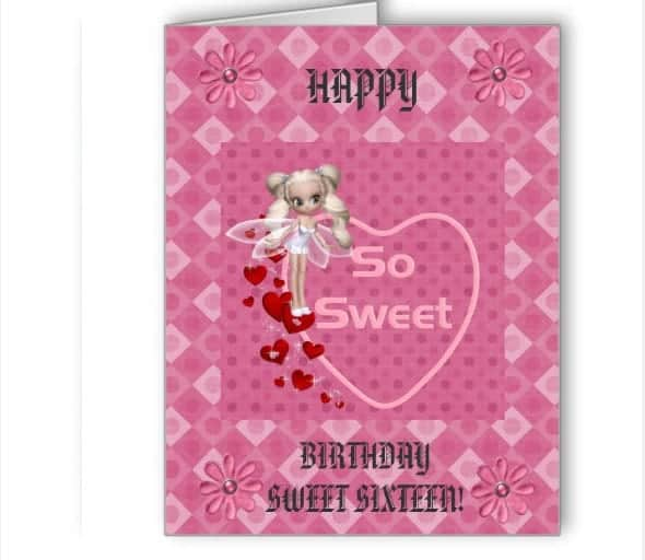 Greeting Card Template 4941