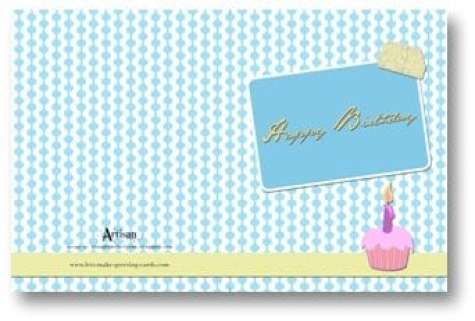 Greeting Card sample 3641