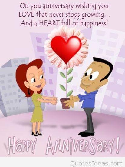 Happy Anniversary Card example 29641