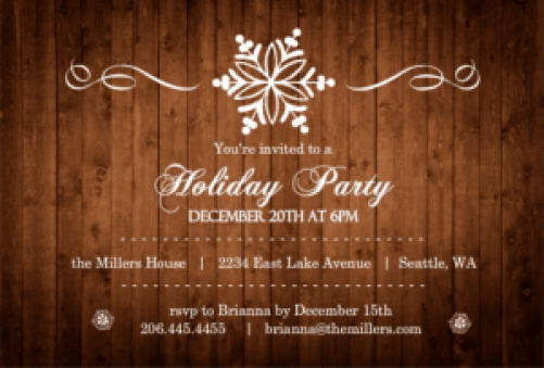 Party Invitation example 8941