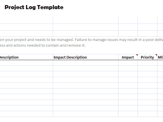 project log sheet template archives word excel templates