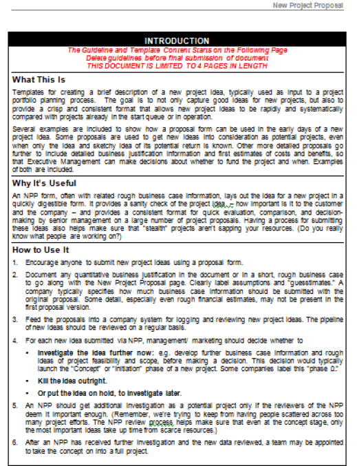 marketing project proposal template - Paso.evolist.co