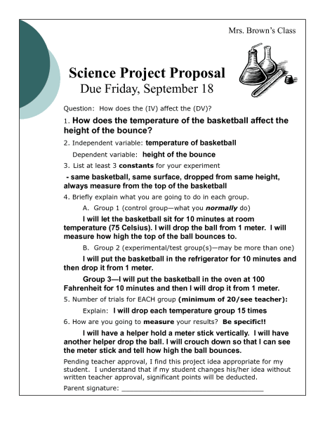 Project Proposal sample 1641