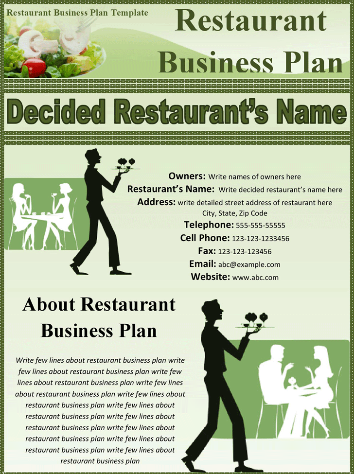 32 free restaurant business plan templates in word excel pdf accmission Image collections