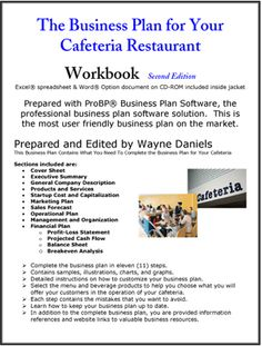 restaurant business plans examples