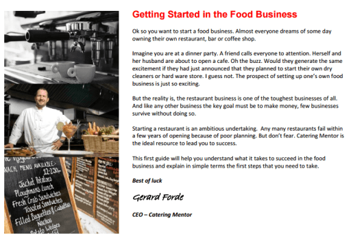 Restaurant Business Plan example 18.94