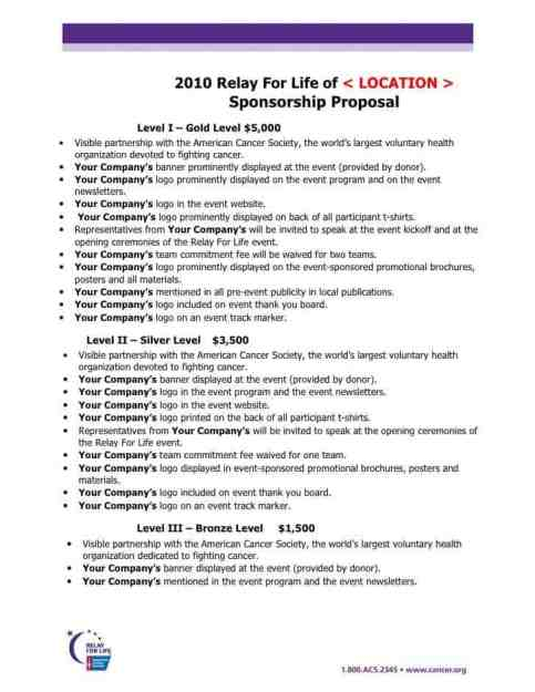 sponsorship proposal template 15 free word excel pdf format, Powerpoint templates
