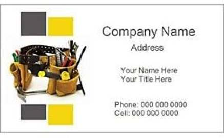 Visiting Card Template 13254