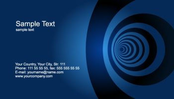 21 free name card template word excel formats visiting card templates reheart Image collections