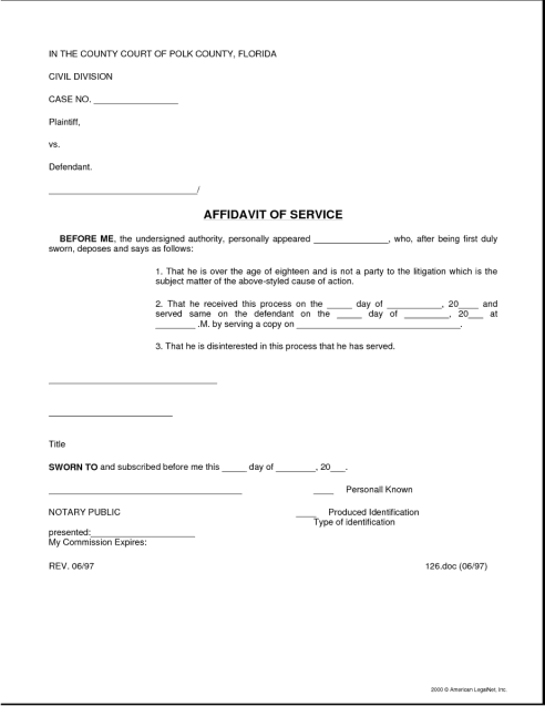affidavit form example 18.4