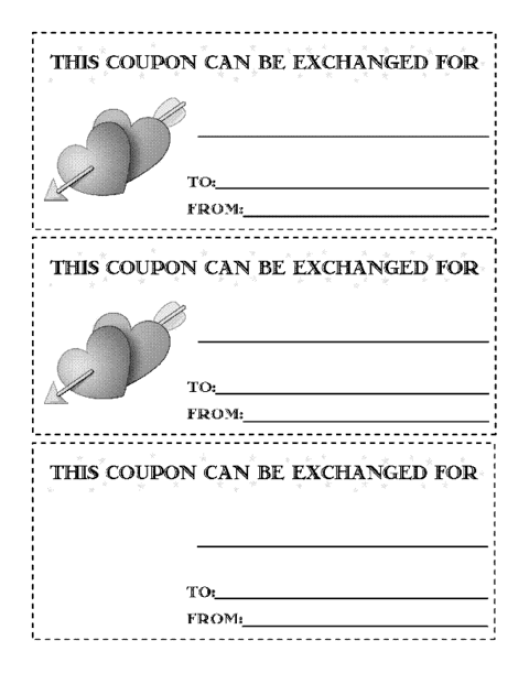 coupon sample 8941