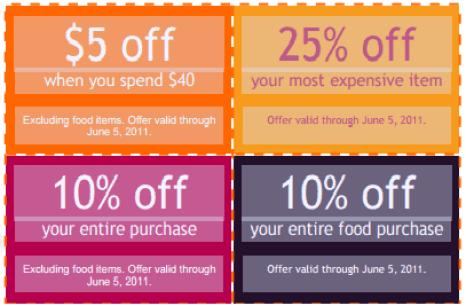 coupon template 3941