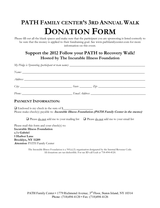 36 free donation form templates in word excel pdf donation form template 9741 altavistaventures Image collections