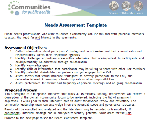 free assessment template 7641
