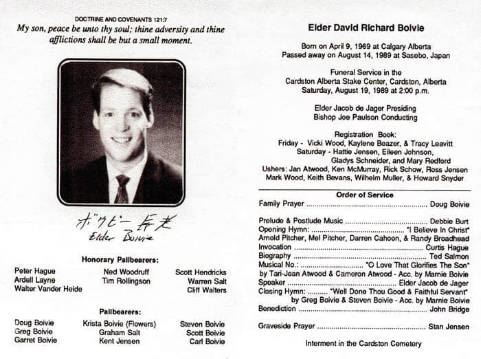 funeral program examples - Muck.greenidesign.co