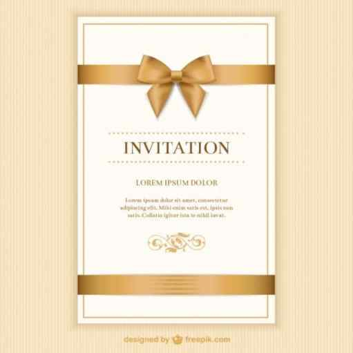 free invitation sample 3641